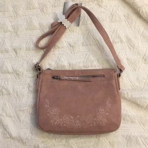 Handbags - Del Mano dusty pink cross body handbag NWT